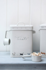Sophie Allport Purrfect Steel Pet Treats Tin
