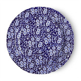 "Blue Calico 10.5"" Plate"