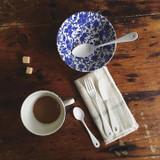 Burleigh Blue Arden Pottery Cereal Dish
