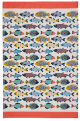 Aquarium 100% Cotton tea towel by Ulster Weavers.