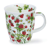 Fine bone china Nevis Wild Fruits Raspberry Mug