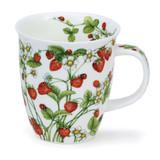 Fine bone china Nevis Wild Fruits Strawberry Mug