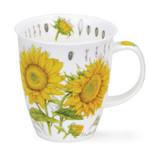 Fine bone china Nevis Floral Sketch Sunflower Mug
