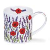 Dunoon Orkney Provence Lavender bone china mug.