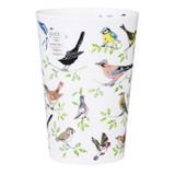 Bone china travel mug from Dunoon - Garden Birds.