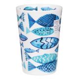 Bone china travel mug from Dunoon - Go Fish.