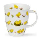 Chicks Dunoon bone china mug in the Nevis Shape