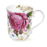 Dunoon Fine Bone China Braemar Vintage Rose Mug