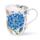 Dunoon Fine Bone China Braemar Vintage Blue Mug