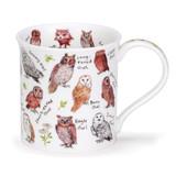 Dunoon Bute Birdlife Owls Mug