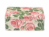 Emma Bridgwater Pink Rose Rectangular Tin