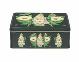 Madame Treacle Midnight Botanical Rectangular Tin