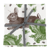 Thornback & Peel Rabbit & Cabbage 100% Cotton Napkins - Set of 4