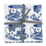 Thornback & Peel Tea Cup 100% Cotton Napkins - Set of 4
