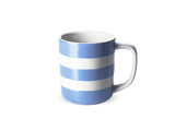 Cornishware 10 oz straight-sided mug - Blue.