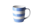Cornishware 12 oz tapered mug.