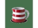 Cornishware 10 oz Dreadnought Jug - red
