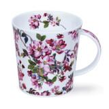 Cairngorm Cottage Blossom Cherry fine bone china mug.