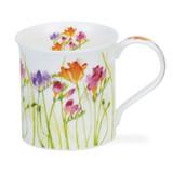 Dunoon Bute Floral Haze Freesia Mug