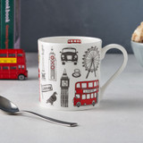 Victoria Egg's bone china Big Smoke London mug.