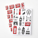 Victoria Eggs Pack of 2 A5 London Notebooks