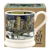 Emma Bridgewater New York City at Christmas Half Pottery half pint mug boxed.