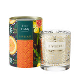 Love Olli Hot Toddy scented candle in glass. Hand poured in the UK.