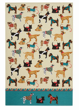 Hound Dog 100% Cotton tea towel by Ulster Weavers.