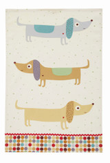 Hot Dog 100% Cotton tea towel by Ulster Weavers.