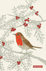 Eden Project Robin 100% Cotton tea towel by Ulster Weavers.