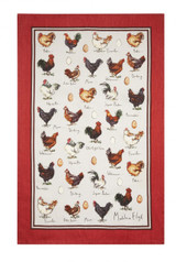 Chicken & Egg Cotton Tea Towel