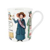 Alison Gardiner Bone China USA Suffragette mug boxed.