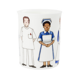 Alison Gardiner Bone China Nursing mug boxed.