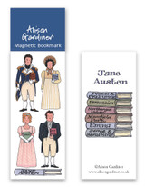 Jane Austen Magnetic bookmark from Alison Gardiner.