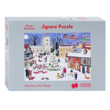 Alison Gardiner Christmas in the Village 1000 pice Jigsaw Puzzle