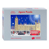 Alison Gardiner Christmas at the Palace of Westminster 1000 pice Jigsaw Puzzle