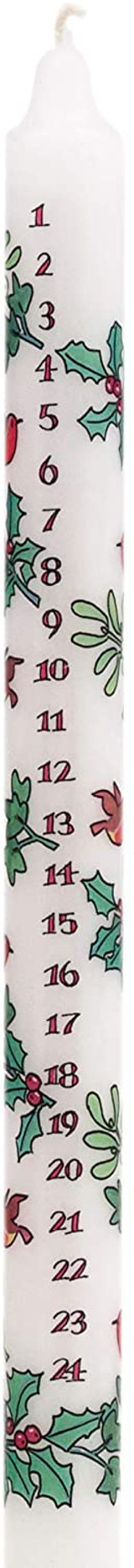 Alison Gardiner Holly & Ivy Advent Candle