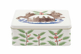 Rabbit & Pudding Deep Rectangular Tin
