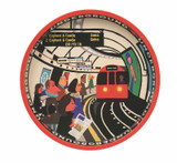Paul Thurlby City Underground Deepwell Tin Tray