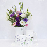 Mosney Mill bone china Bee & Flower jug.