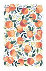Life is Peachy 100% Cotton tea towel by Ulster Weavers.