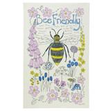 Poppy Treffry Bee Friendly 100% cotton tea towel.