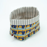 Poppy Treffry handmade small Sewing storage pot.