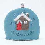 Poppy Treffry Christmas Cabin Small Tea Cosy.