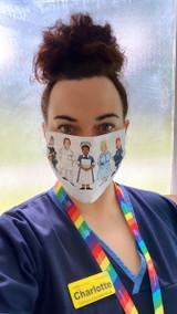 Alison Gardiner Nursing Face Mask
