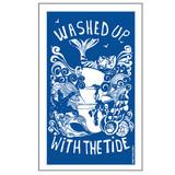 Port & Lemon Washed Up with the Tide 100% cotton tea towel