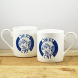 Port & Lemon Ship' Cat Bone China Mug