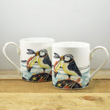 Port & Lemon Proud as a Puffin Bone China Mug