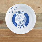 Port & Lemon Ship' Cat Bone China Bowl