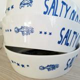 Port & Lemon Salty Old Sea Dog Bone China Bowl